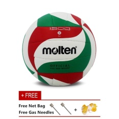 Molten PRO4000 Men's Women's Volleyball Size 5 Series PU Material Official Molten Brand Professional Volleyball Ball - intl