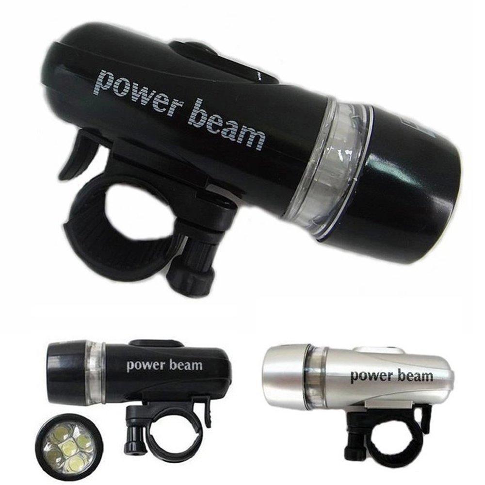Moonar 5 LED Power Beam tahan air tinggi lampu Gunung Bersepeda lampu (