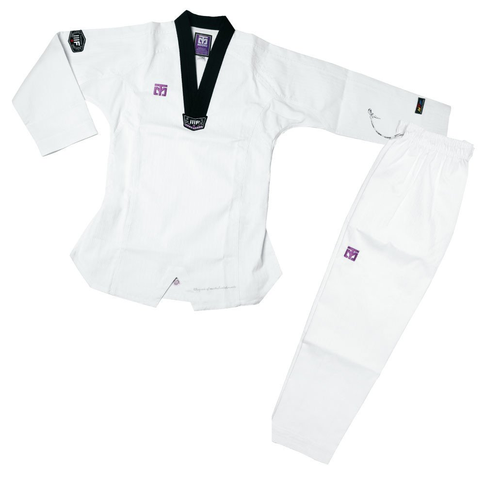 ... MOOTO 3F Taekwondo Uniform 2-piece Set (White) ...