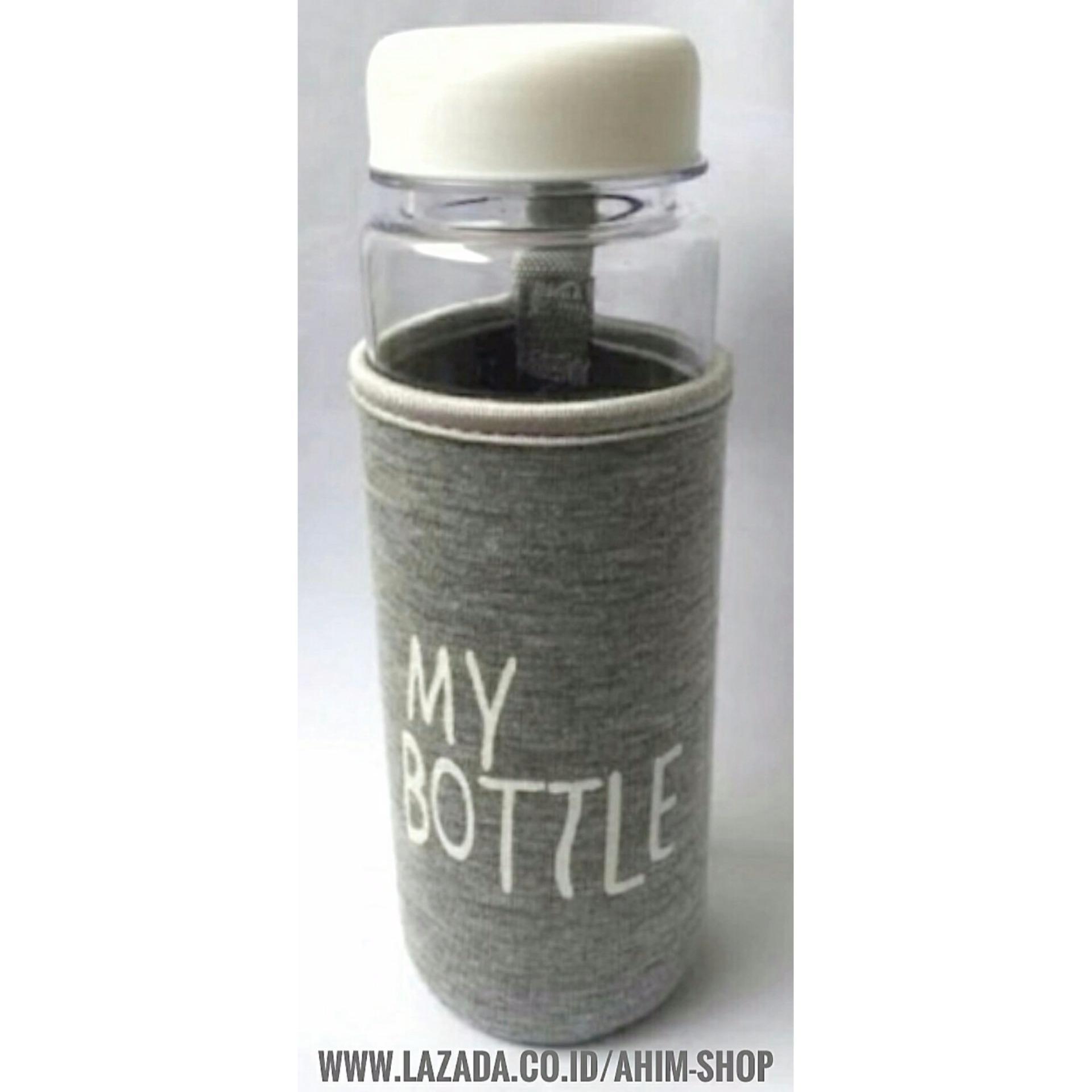 Flash Sale My Bottle Clear 545 Ml Pouch Silver Botol Minum Infused Memo Water A5 Unik Putih