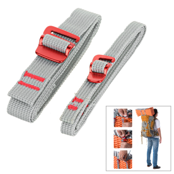 NatureHike Belt Strap w/ Quick Release Buckle - Grey (2m / 2PCS) -intl
