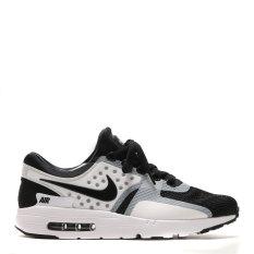 Nike Air Max Zero Essential Sepatu Lari - White/Black-Black