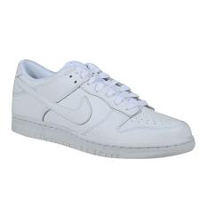 Nike Dunk Low Sneakers Olahraga Pria - White/White-White