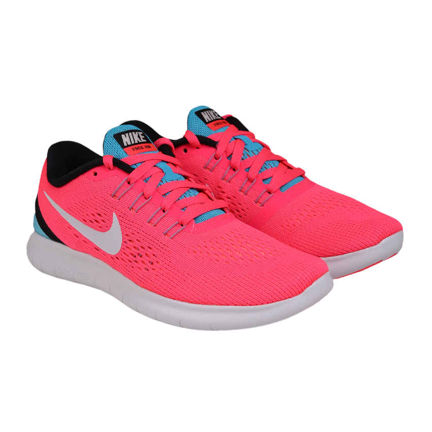 b28d8227fcd4 ... where to buy nike free rn womens running shoes racer pink chlorine blue  hitam off 170f6