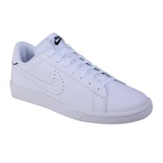 Nike Tennis Classic CS Sneakers Olahraga Pria - White/White-Black