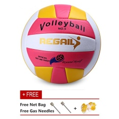 Officia Volleyball GAME BALL Size 5 Thickened Soft PU Leather Volley Ball Match Training Volleyball - intl