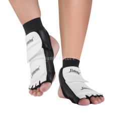 PAlight Taekwondofootpad Pair Taekwondo kaki Protector MMA Karate kaki bantalan perdebatan Gear (ukuran: XL)