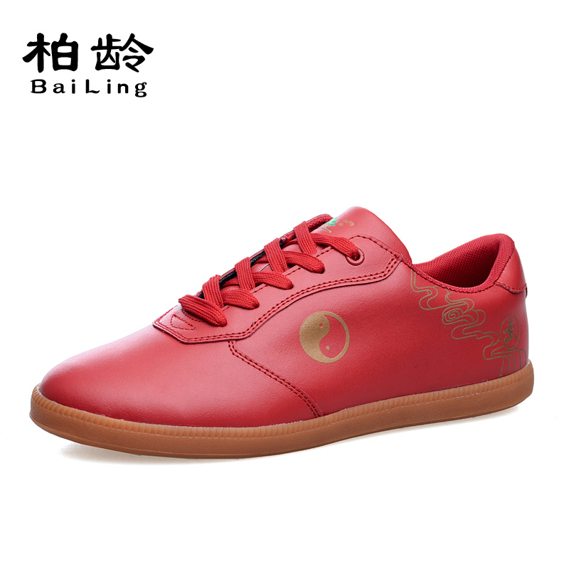 Parkland soft kulit untuk pria dan wanita bernapas tai chi tai chi sepatu sepatu