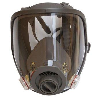 Perbarui Wajah Penuh Debu Gas Masker Penutup Wajah LukisanPenyemprotan Alat Pernafasan