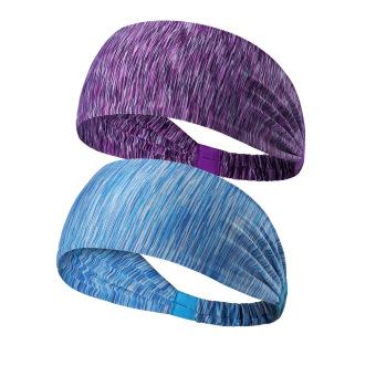 HEMAT Perempuan kebugaran berjalan yoga band rambut headband olahraga headband TERLARIS