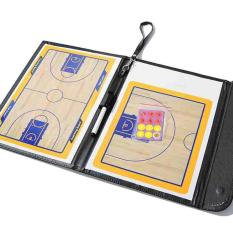 Portable Sports COACH Board Bola Basket PVC Kereta Tactical Magnetic Board Kit BARU-Internasional