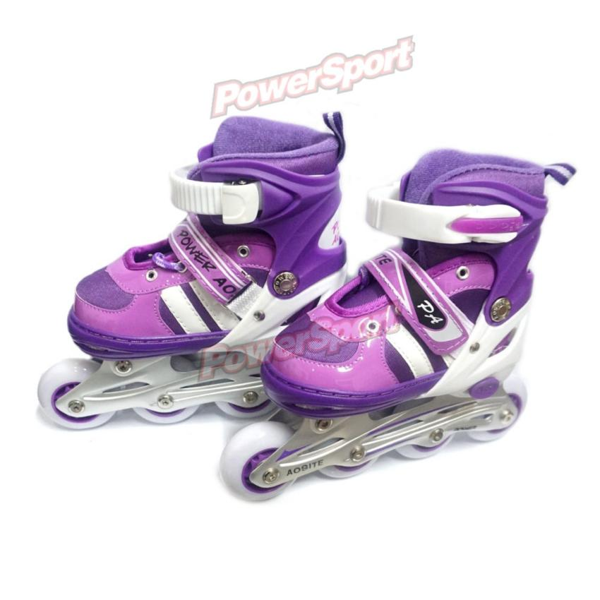Power Sport In Line Skate Sepatu Roda 2 In 1 Adjustable Wheel Hijau ... 85edf86b27
