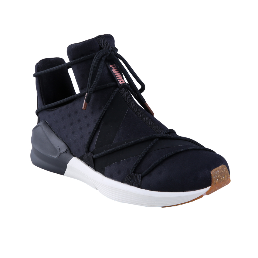 Puma Fierce Rope Vr Wns Sepatu Sneakers Olahraga Wanita Puma Black ... 6df343ab82