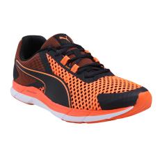 Puma Propel 2 Sepatu Lari Pria - Puma Black-Shocking Orange