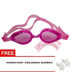 Rainbow Swimming Goggles Anti Fog Uv Protection / Kacamata Renang Kaca mata Santai