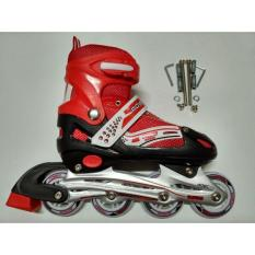 READY  Sepatu Roda Inline New Power Superb 2 In 2 Bajaj -Merah-  MURAH