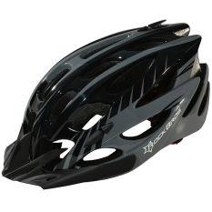 ROCKBROS Helmet Road Bike MTB Bersepeda Helm Ukuran M/L 57cm-62cm   Black Grey