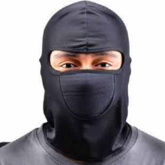REVIEW Sarung Kepala Helm Mask Ninja Masker Debu Motor Topeng Ninja Sepeda Cover Pelindung Rambut MURAH