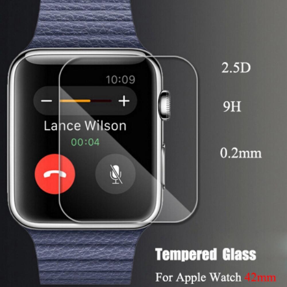 Sebenarnya kaca film Premium marah layar pelindung untuk Apple Watch 42 mm .