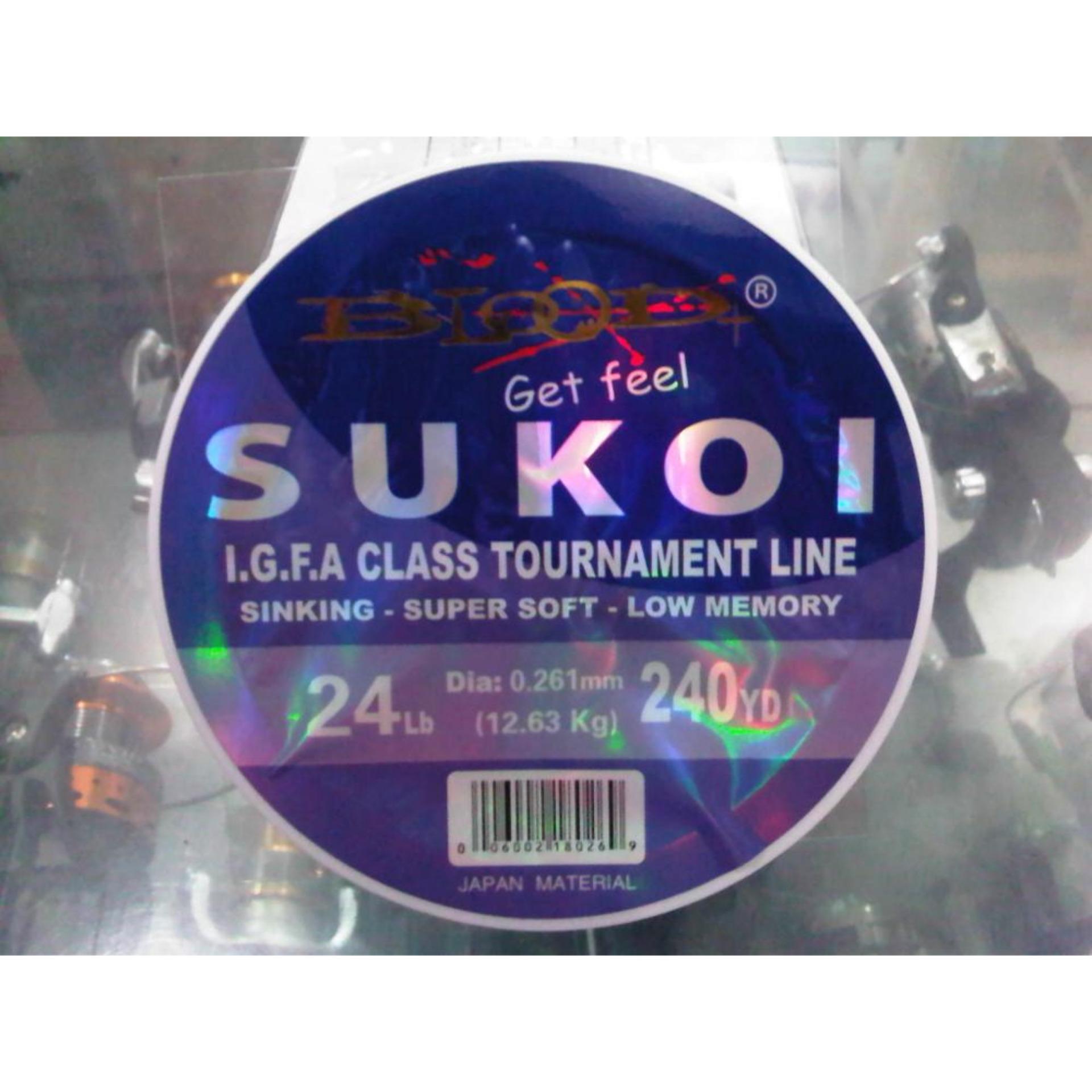 Senar Blood-X Sukoi Class Tournament Line .