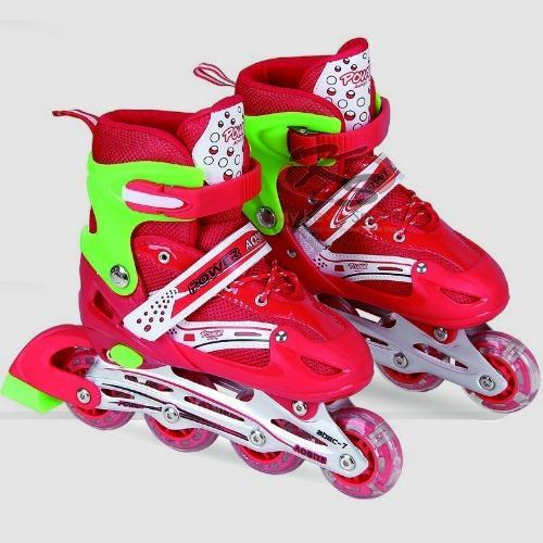 Sport Power Line Sepatu Roda Anak Merah L - Smart4K Design Ideas fd86f1bf16