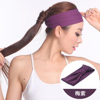 BELI Sha Luoer Produk Baru Berlari Kebugaran Yoga Pita Rambut Ikat Kepala TERMURAH
