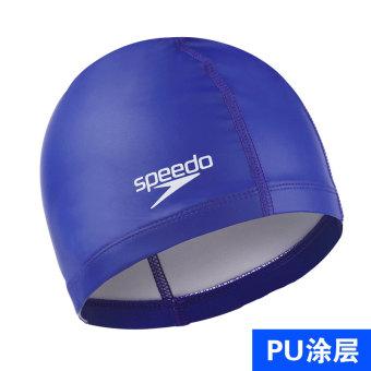 HEMAT Speedo nyaman pelindung telinga tahan air topi renang dengan rambut panjang MURAH