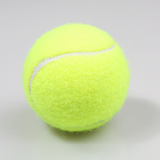 Sports Training Tennis Ball Trainer Exercise Ball with 4m Rubber Rope Lemon Yellow - Intl