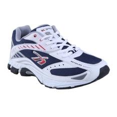 Spotec Kinetic Sepatu Lari - Putih/Biru Tua