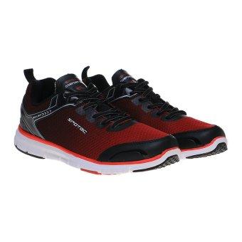 Spotec Omni Light Sepatu Lari - Hitam/Merah - 5