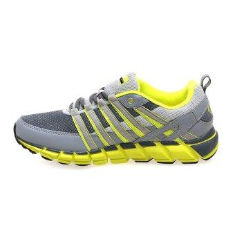 Spotec Storm Sepatu Running - Dark Grey-Citron - 3