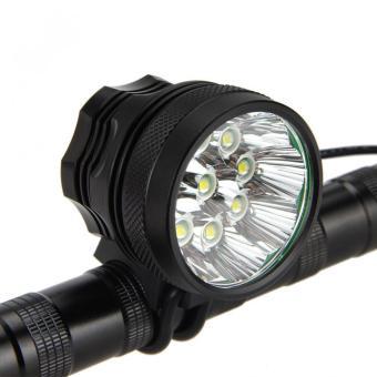 Detail Gambar Tahan Air 15000 Lumen 9 x CREE XM-L T6 LED Bersepeda Lampu MenyalaTerang dan Variasi Modelnya