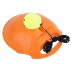 Tennis Training Tool Exercise Tennis Ball Self-study Rebound Ball Baseboard - intl