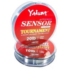 Yakuza Sensor Tournament 20lb Senar Pancing Kuat dan Langsung Tenggelam Abu-abu