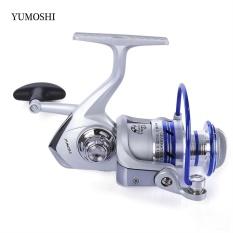 YUMOSHI 12BB Half Metal Spinning Reel Fishing Tackle with Foldable Handle(AL 4000) - intl