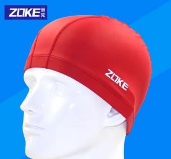 REVIEW ZOKE nyaman warna solid dengan rambut panjang topi renang besar topi renang TERMURAH