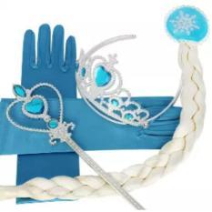 1 Set Aksesoris Princess Elsa- Frozen