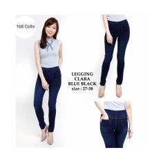 ... 168 Collection Celana Jegging Jumbo Clara Jeans Pant Biru Tua