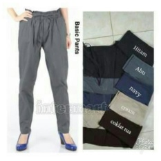 168 Collection Celana Tara Jumbo Long Pant-Coklat