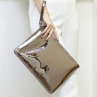 2016 Designer Women Day Clutches Bag Envelope Ladies Evening Party Bag Leather Handbags High Quality Bolsas
