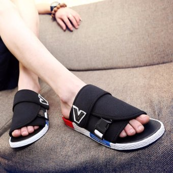 2017 Roman sandals male new sandals casual shoes sandals outdoor summer men 's beach lazy shoes - intl - 4