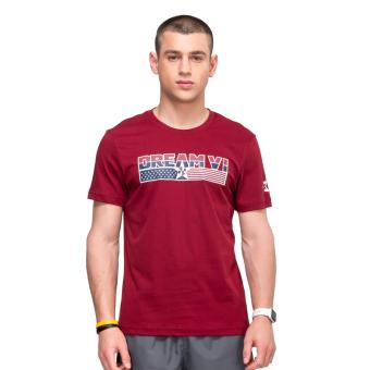 Beli 361 basket bagian tipis t-shirt pria leher bulat lengan pendek t-shirt  (Gucci coklat) Terpercaya 732b85a794