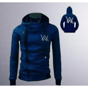 3k Alan Walker Sweater Harakiri - Fleece - Biru Tua