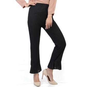 Ace Fashion Axel Cullote Pants - Celana Kulot Wanita - Black
