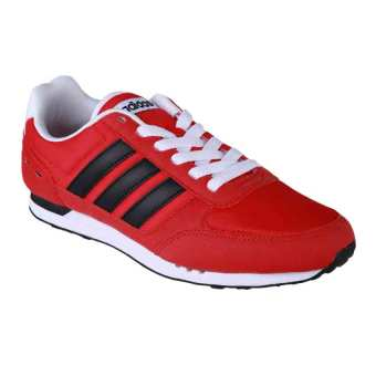 Adidas Neo City Racer Men's Shoes - Scarlet / Core Black / Ftwr White