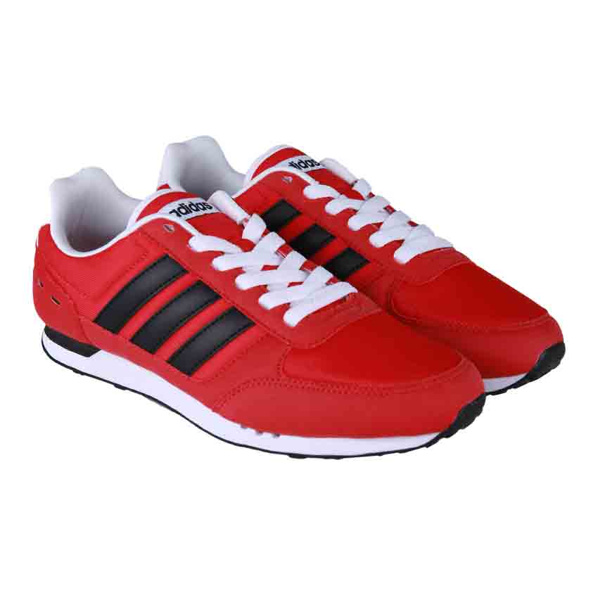 Adidas Neo City Racer Men's Shoes - Scarlet / Core Black / Ftwr White .