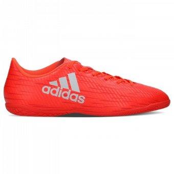 ... Adidas X16.4 IN S75689-Sepatu futsal-Solar red/Silver - 3 ...