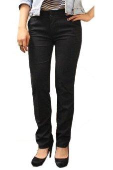 Adore Celana Panjang Big Size Basic - Hitam - 2