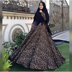 Adzra Gamis Murah syar'i /busana muslim wanita - Macan Dress