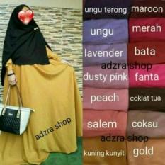 Adzra SALE!!! PROMO!!! GAMIS MURAH/Gamis wanita/Busana muslim/Gamis syar'i BALOTELLY